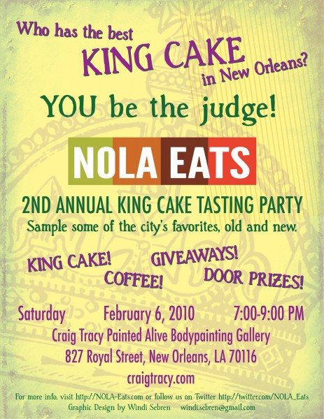 Best King Cake In New Orleans Area