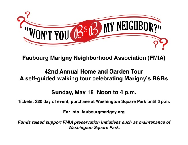 Basic FMIA Home Tour Flyer